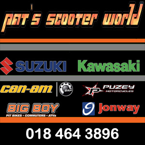 Pat's Scooter World / Suzuki / Kawasaki